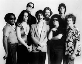 Zappa band in 1982