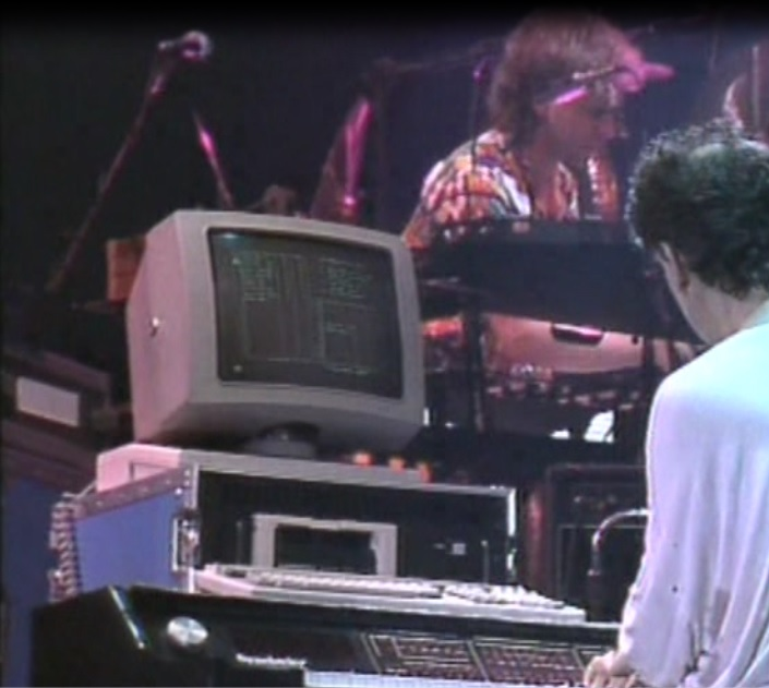 Zappa at his synclavier, Barcelona
