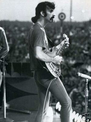 Zappa on stage